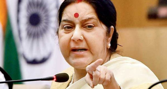 Sushma to meet Canadian counterpart ahead of Modi-Trudeau talks