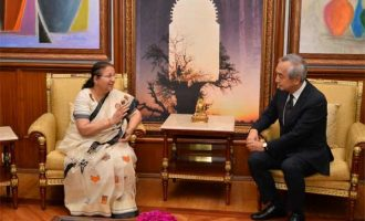 Kenji Hiramatsu, Ambassador of Japan to India calls on Lok Sabha Speaker Sumitra Mahajan
