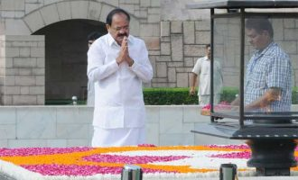 Naidu takes oath as new Vice President