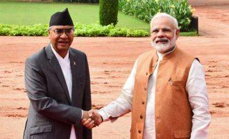 Nepal PM Deuba accorded ceremonial welcome
