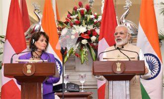 India to work with Switzerland against black money : PM Modi