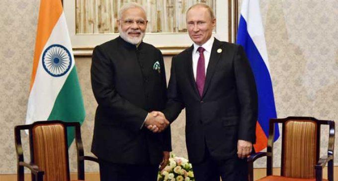 Modi, Putin to hold informal summit in Russia