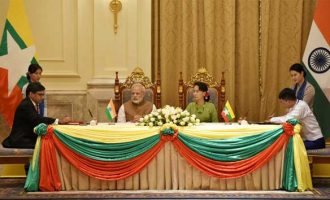 India, Myanmar sign 11 agreements