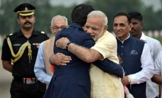 Japanese PM arrives on two-day India visit