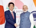 A strong India in Japan's interest, says Abe at bullet train foundation event