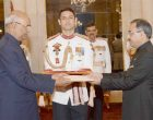 High Commissioner-designate of Pakistan, Sohail Mahmood presenting his Credentials to the President, Ram Nath Kovind