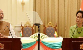 India shares Myanmar's concerns over security men's killing in Rakhine : PM Modi