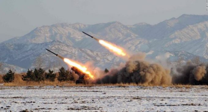 North Korean launches missile over Japan