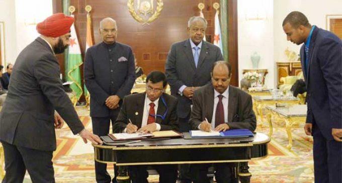 India, Djibouti discuss maritime cooperation, renewable energy