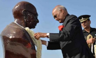 President of India Reaches Djibouti; Addresses Indian Community in Djibouti