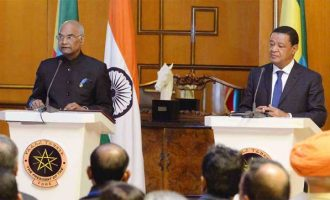 In Ethiopia, Kovind cites India's investments