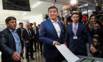 Jeenbekov wins Kyrgyzstan's presidential election