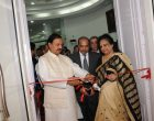 Glimpses from Rashmi Agarwal Painting Exhibition inaugurated by Dr. Mahesh Sharma, MoS (IC) for Culture & MoS, EF&CC