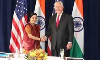 Sushma meets US Secretary of State