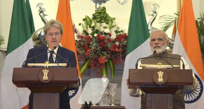 Italy, India together in opposing protectionism: Italian PM