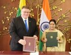 India, Lithuania sign extradition treaty