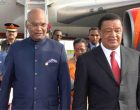 President Kovind arrives in Ethiopia
