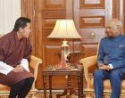 President appreciates Bhutan King's role in resolving Doklam