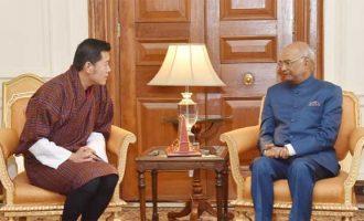 President appreciates Bhutan King's role in resolving Doklam
