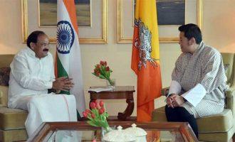 Vice President, Shri M. Venkaiah Naidu calling on the King of Bhutan, His Majesty Jigme Khesar Namgyel Wangchuck