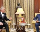 His Majesty The King Philippe of Belgium calling on the President, Shri Ram Nath Kovind, at Rashtrapati Bhavan