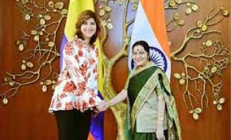 India, Colombia discuss expanding bilateral ties