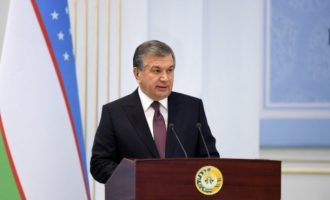 """CENTRAL ASIA IS A REGION OF HUGE UNREALIZED POTENTIAL"" Uzbek President SHAVKAT MIRZIYOYEV"