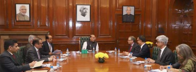 Home Minister Rajnath Singh seeks Bill Gates' help in developing model villages