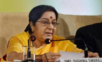Sushma to attend SCO meeting in Tajikistan