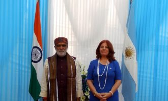 Diplomacyindia.com Exclusive Video : Glimpses from the Argentine National Day