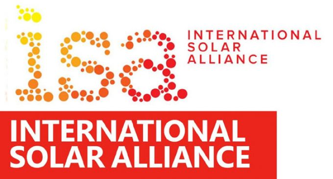 International Solar Alliance set to get become legal entity
