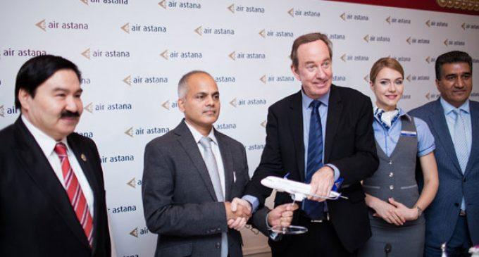 AIR ASTANA CELEBRATES 13 YEARS CONNECTING INDIA AND EURASIA