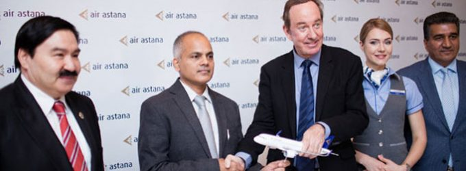 AIR ASTANA CELEBRATES 13 YEARS CONNECTING INDIA AND EURASIA