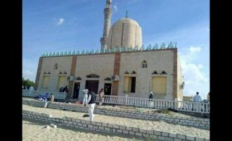 155 killed in Egypt mosque attack