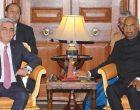 President of the Republic of Armenia, Serzh Sargsyan meeting the President, Ram Nath Kovind
