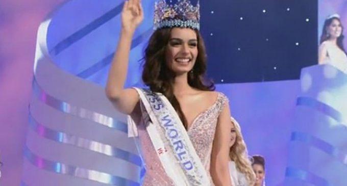 India's Manushi Chhillar wins Miss World crown