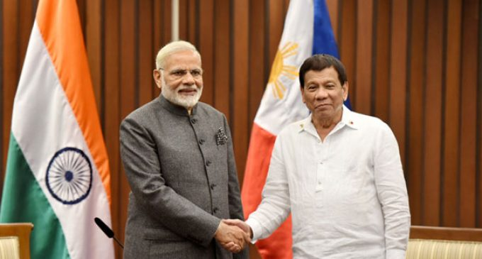 PM Modi meets Philippines President