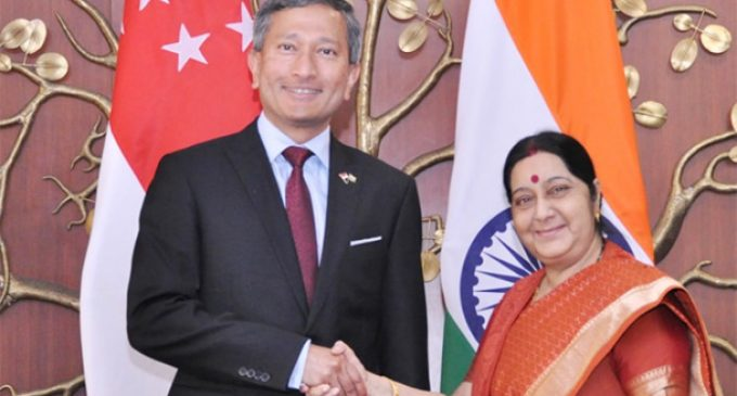 India, Singapore hold Joint Ministerial Committee meet