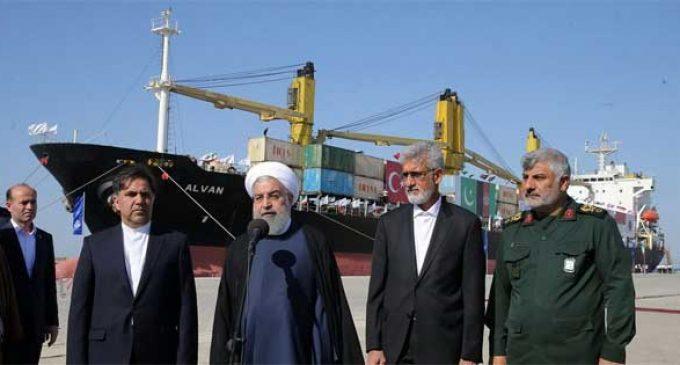 Iran President opens Chabahar port