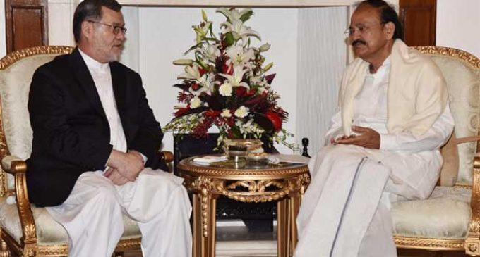 India supports Afghanistan becoming united, democratic nation: Naidu