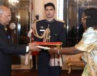 High Commissioner Designate of the Republic of Uganda, Dinah Grace Akello presenting her credentials to the President, Ram Nath Kovind