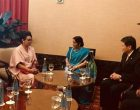 Sushma meets new Asean Secretary General
