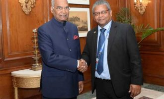 LEADER OF OPPOSITION IN THE NATIONAL ASSEMBLY OF SEYCHELLES CALLS ON THE PRESIDENT