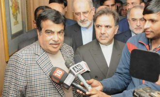 Gadkari holds bilateral talks with  Iranian Minister of Roads and Urban Development