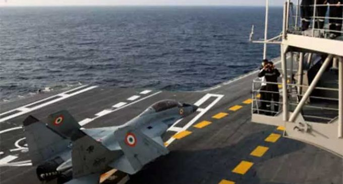 In strategic transformation India building itself as maritime power