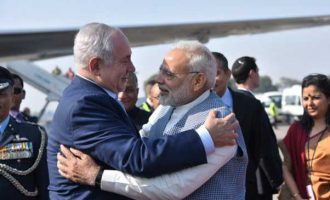 Modi breaks protocol as Netanyahu on six-day India trip