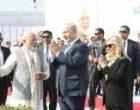 Modi, Netanyahu in Ahmedabad; begin roadshow