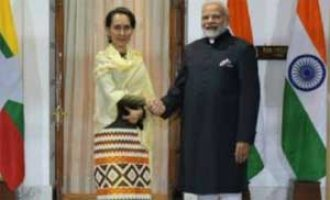 India, Myanmar discuss ties amid Rohingya crisis