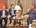 PRIME MINISTER OF VIETNAM CALLS ON THE PRESIDENT