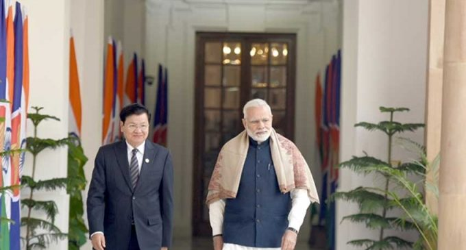 India, Laos discuss development aid, trade